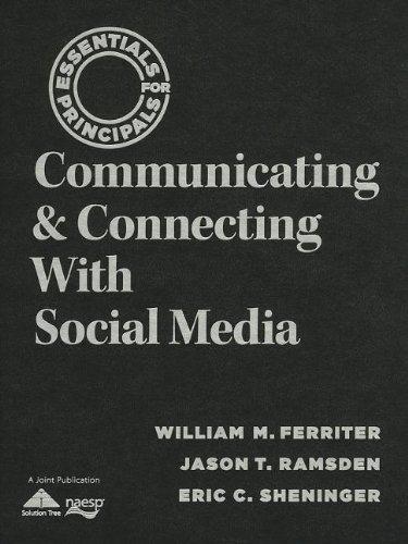 9781935249535: Communicating & Connecting With Social Media (Essentials for Principals)