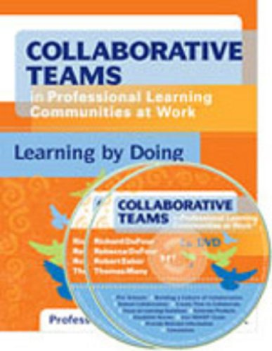 9781935249771: Collaborative Teams in Professional Learning Communities at Work: Learning by Doing