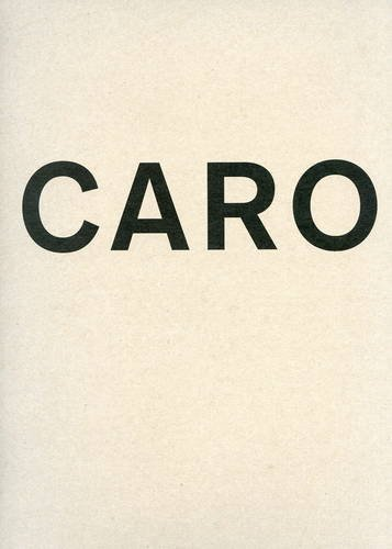 9781935263807: Anthony Caro - Vol. 1 Park Avenue Series; Vol. 2 at Museo Correr