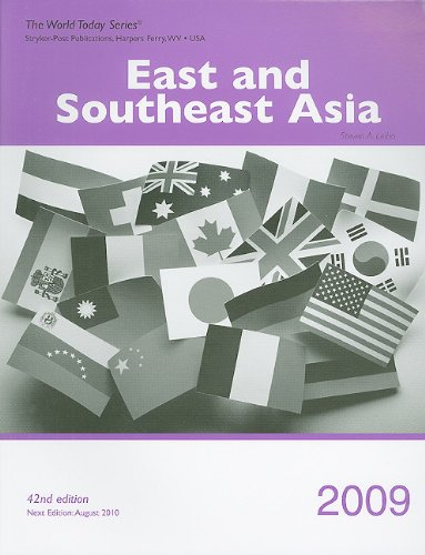 9781935264026: East and Southeast Asia 2009 (World Today (Stryker))