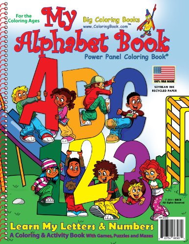 9781935266303: My Alphabet Coloring Book (8.5x11)