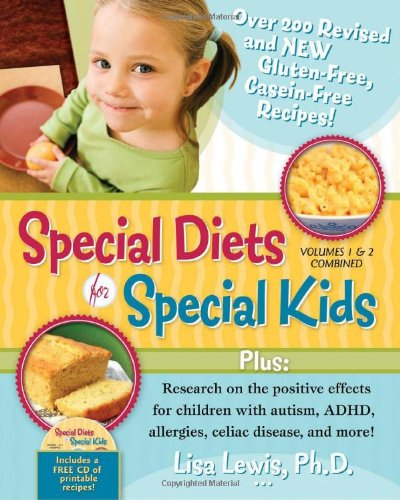 9781935274124: Special Diets for Special Kids, Volumes 1 and 2 Combined: Over 200 REVISED and NEW gluten-free casein-free recipes, plus research on the positive ... ADHD, allergies, celiac disease, and more!