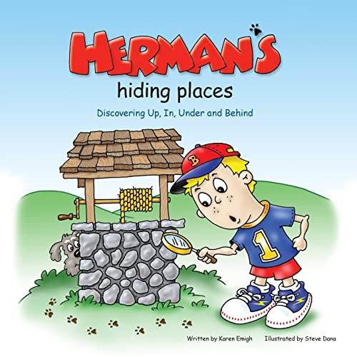 9781935274612: Herman's Hiding Places: Discovering Up, In, Under and Behind (Brett and Herman)