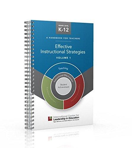 9781935300762 Effective Instructional Strategies Volume 1