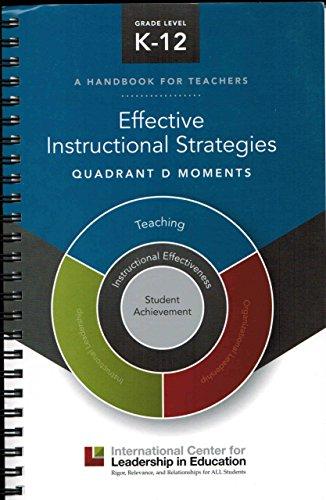 9781935300809 Effective Instructional Strategies Quadrant D