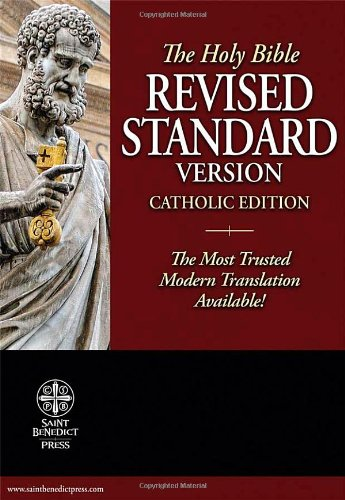 9781935302063: Revised Standard Version - Catholic Edition Bible (Black Genuine Leather): Standard Print Size
