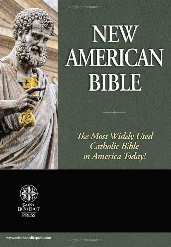 9781935302117: Holy Bible: New American Bible (Genuine Leather Black)