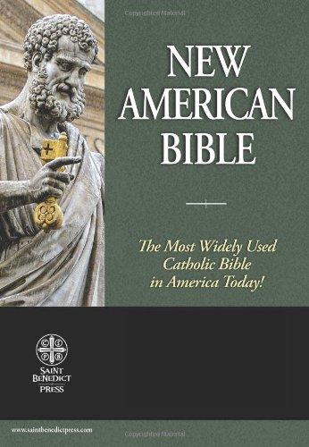 9781935302131: Holy Bible: New American Bible (Premium UltraSoft Black)