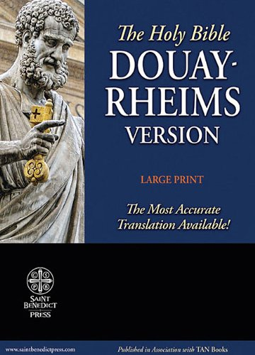9781935302230: Holy Bible: Douay Rheims Version, Burgundy, Premium Ultrasoft