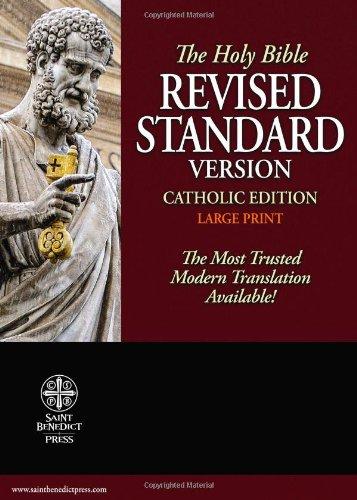 9781935302278: Catholic Bible-RSV-Large Print