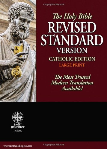9781935302278: Holy Bible: Revised Standard Version, Catholic Edition (Premium Ultrasoft Black)
