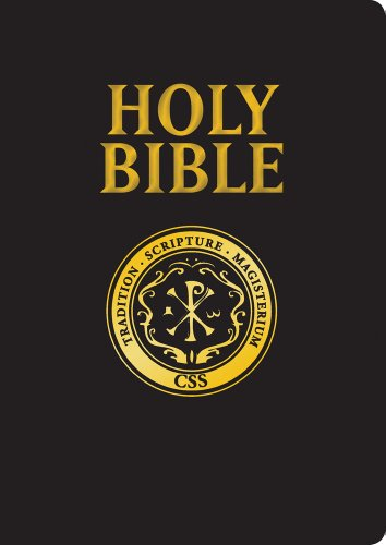 9781935302490: Official Catholic Scripture Study Bible-RSV-Catholic Large Print: Official Study Bible of the CSSI
