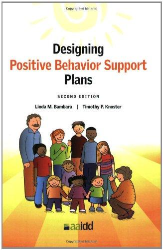 9781935304036: Designing Positive Behavior Support Plans, 2nd Edition