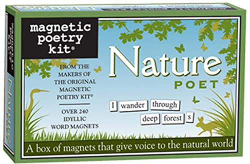 Nature Lover-Magnetic Poetry Kit: Magnetic Poetry