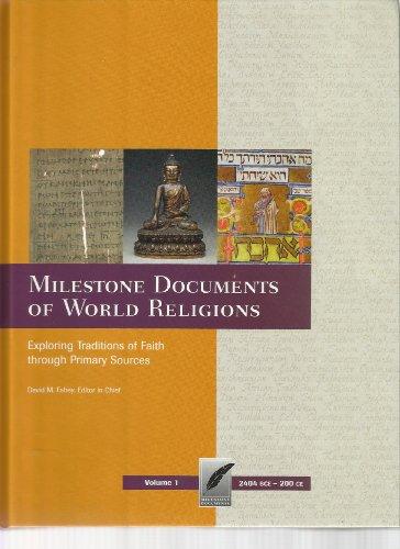 Milestone Documents of World Religions-Volume 1