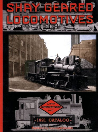 9781935327288: 1921 Shay Geared Locomotive Engine & Parts Catalog