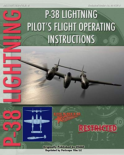 9781935327936: P-38 Lighting Pilot's Flight Operating Instructions