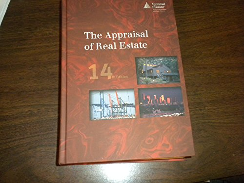 The Appraisal of Real Estate, 14th Edition: Institute, Appraisal