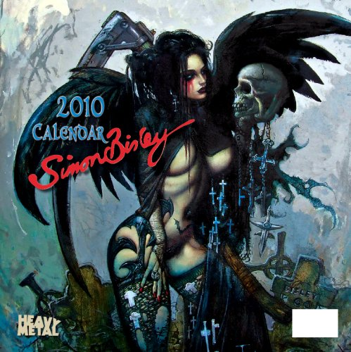 Art of Simon Bisley 2010 Wall Calendar: Heavy Metal