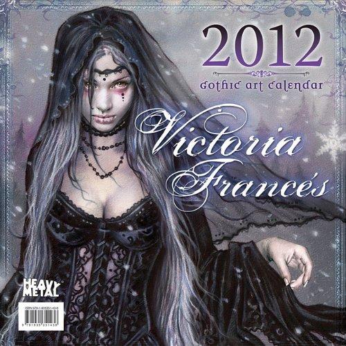 9781935351436: 2012 Art of Victoria Frances Wall calendar