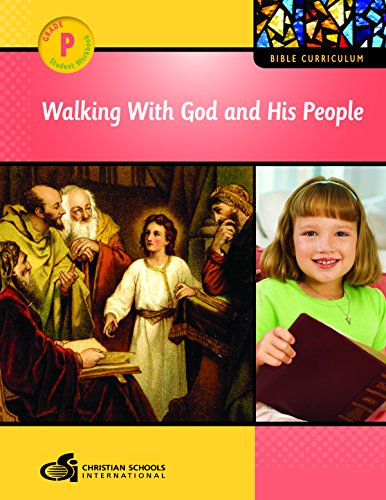 Walking with God and His People Student Workbook (Pre-K): n/a