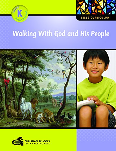9781935391029: Walking with God and His People Teacher's Guide (Kindergarten)