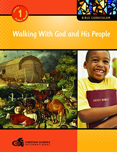 9781935391043: Walking with God and His People Teacher's Guide (Grade 1)