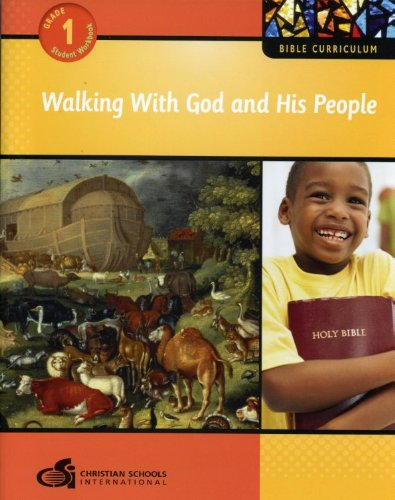 9781935391050: Walking with God and His People – Student Workbook (Grade 1) (Bible Curriculum)