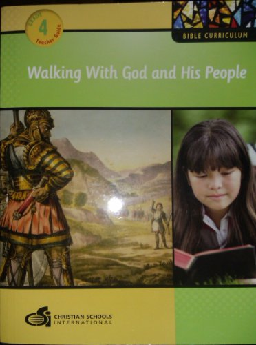 9781935391104: Walking with God and His People Teacher's Guide (Grade 4)