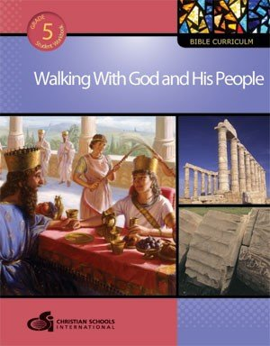 9781935391128: Walking with God and His People Teacher's Guide (Grade 5)