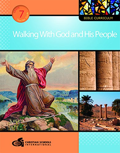 9781935391180: Walking with God and His People Teacher's Guide (Grade 7)