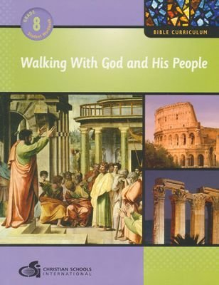9781935391234: Walking with God and His People Grade 8 Student Textbook