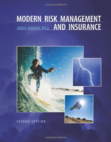 9781935391630: Modern Risk Management and Insurance