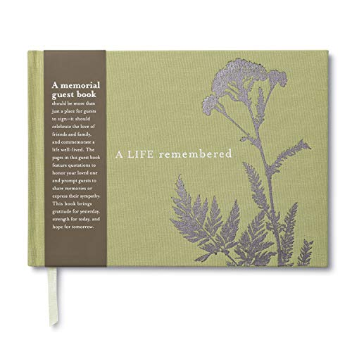9781935414292: A Life Remembered: Guest Book