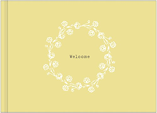 9781935414308: Welcome: Cabin Guest Book