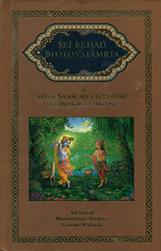 9781935428329: Sri Brhad Bhagavatamrta (Second Canto)