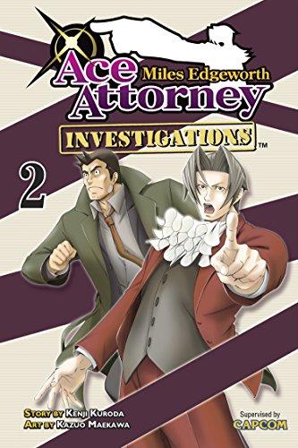 9781935429982: Miles Edgeworth: Ace Attorney Investigations, Volume 2