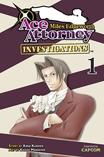 9781935429999: Miles Edgeworth: Ace Attorney Investigations 1