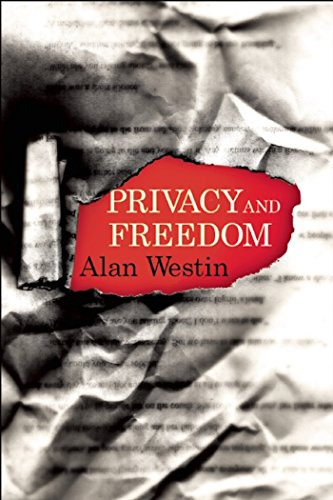 "Privacy and Freedom 9781935439974  He was the most important scholar of privacy since Louis Brandeis.  Jeffrey Rosen In defining privacy as the claim of individuals to determine for themselves when, how and to what extent information about them is communicated,"" Alan Westin's 1967 classic Privacy and Freedom laid the philosophical groundwork for the current debates about technology and personal freedom, and is considered a foundational text in the field of privacy law. By arguing that citizens retained control over how their personal data was used, Westin redefined privacy as an individual freedom, taking Justice Louis Brandeis' 19th century definition of privacy as a legal right and expanding it for use in modern times. Westin's ideas transformed the meaning of privacy, leading to a spate of privacy laws in the 1970s, as well as prefiguring the arguments over privacy that have come to dominate the internet era. This all new edition of Privacy and Freedom features an introduction by Daniel J. Solove, John Marshall Harlan Research Professor of Law at the George Washington University Law School."
