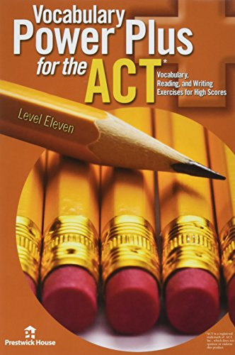 Vocabulary Power Plus for the ACT -: Daniel A. Reed
