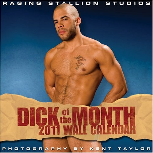 9781935478256: 2011 Dick of the Month Wall Calendar (Village Lighthouse Inc)