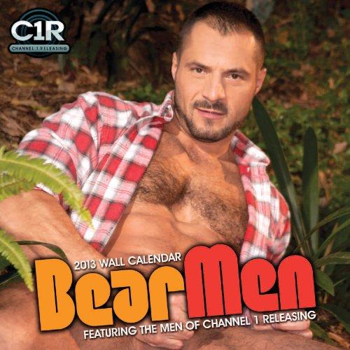 9781935478812: 2013 Bear Men Wall Calendar