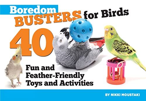 9781935484196: Boredom Busters for Birds: 40 Fun and Feather-Friendly Toys and Adventures