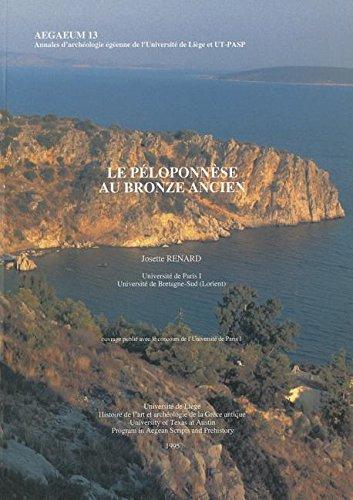 9781935488088: Le Peloponnese au Bronze Ancien (aegaeum)