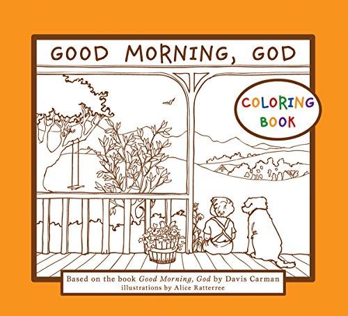 9781935495260: Good Morning, God - Coloring Book
