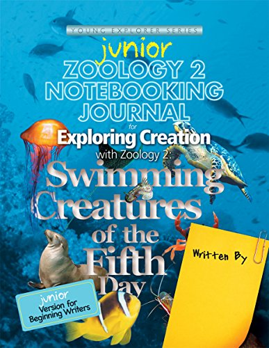9781935495611: Zoology 2 Junior Notebooking Journal: Swimming Creatures of the Fifth Day (Young Explorer Series)