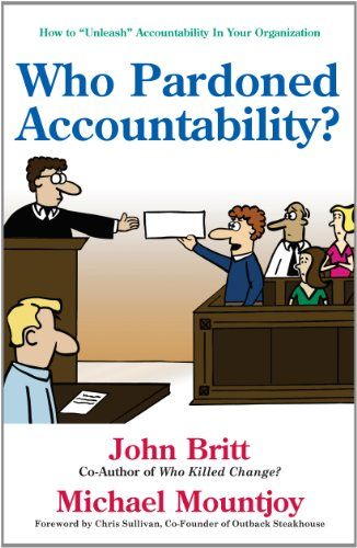 "Who Pardoned Accountability?: How to ""Unleash"" Accountability: John Britt, Michael"
