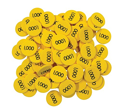 Place Value Disks - Thousands: Bob Hogan