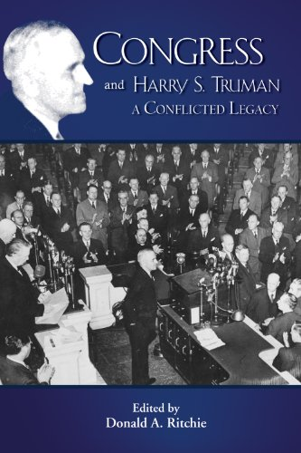 Congress and Harry S. Truman (Truman Legacy Series) (1935503944) by Donald A. Ritchie