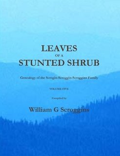 9781935538028: LEAVES OF A STUNTED SHRUB Volume FIVE